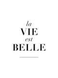 La Belle est Vie