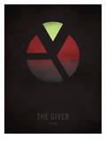 The Giver_Minimal Reproduction d'art par Christian Jackson
