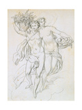 Psyche and Cupid  C1820-1857