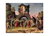 The Parnassus: Mars and Venus  1497