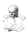 Otto Von Bismark  German Statesman  1877