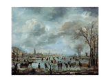 River View in the Winter  17 Century