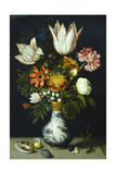 Flowers in a Porcelain Vase  C1600