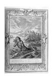Glaucus Turned into a Sea God  1733