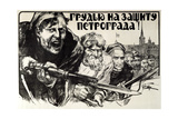 Let's Defend Petrograd Bravery!  1919