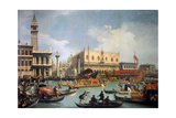 Buccentoro's Return to the Pier at the Doges' Palace  1730S