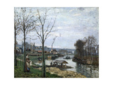 The Laundrette  Port Marly  1872