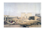 Grand Approach to the Temple of Philae  Nubia  19th Century