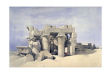 Temple of Sobek and Haroeris at Kom Ombo  19th Century