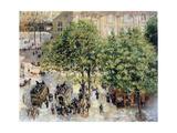 Place Du Theatre-Francais  Spring  1898