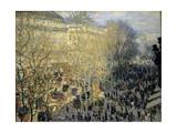 Le Boulevard Des Capucines  1873