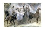 The Elegant Horse and Riders  C1822-1892