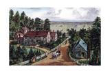 The Western Farmer's Home  1871