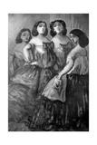 Four Girls  19th Century