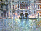 Venice, Palazzo Da Mula, 1908 Giclée par Claude Monet
