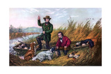Wild Duck Shooting  1854