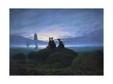 Moonrise over the Sea, 1774 Giclée par Caspar David Friedrich