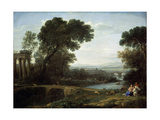 Landscape with the Rest on the Flight into Egypt (Midda)  1661