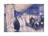 Poster Advertising Rolls-Royce Cars  C1907