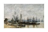 The Harbour of Bordeaux  1874
