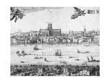 Panorama of London  1616
