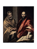 The Apostles St Peter and St Paul  1587-1592