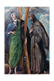St Andrew and St Francis  C1590-1595