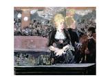 Bar at Folies Bergere  1881