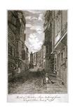 Butcher Row  Westminster  London  1796