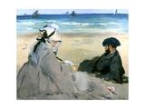 At the Beach  1873