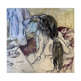 Woman at Her Toilette  1889