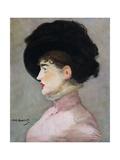 La Viennoise: Portrait of Irma Brunner  1882