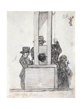 French Penalty  Between 1824 and 1828