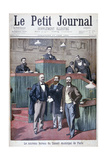 The New Municipal Council of Paris  1900