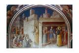 St Stephen Preaching  Mid 15th Century