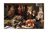 A Butcher Shop  1630S