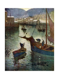 The Harbour  Polperro  Cornwall  1924-1926