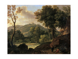 The Countryside around Florence  Italy  Late 18th-Early 19th Century