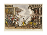 Destruction of the Furious Elephant at Exeter Change  1826