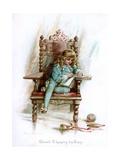 Edward VI  Keeping His Diary  1897