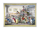 A Swarm of English Bees Hiving in the Imperial Carriage!! a Scene at the London Museum  1816
