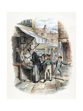 Scene from Oliver Twist by Charles Dickens  1837-1839