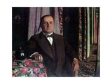 Portrait of Georg E Haasen  1913