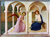 The Annunciation, C1438-1445, (C1900-192) Giclée par Fra Angelico