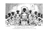 The Banquet of the Black Dolls  19th Century