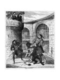 Gog Extricating Xit from the Bear in the Lions' Tower  1840