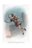 Prince Arthur Leaping from the Tower  1897