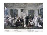 The Royal Family of Denmark  1891
