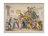 Bonaparte's Coach on Show at Bullock's Museum  Piccadilly  Westminster  London  1835