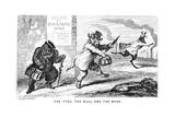 The Stag  the Bull  and the Bear  19th Century